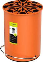 Мусорное ведро Ledeme L704-7 (оранжевый) -