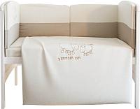 Комплект в кроватку FAIRY Я и моя мама (140x70) -