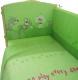 Комплект в кроватку Фея Веселая игра 6 (зеленый) -