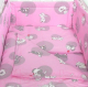 Комплект в кроватку Фея Наши друзья 6 (розовый) -