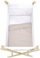 Комплект в кроватку Polini Kids Для колыбели (бежвый) -