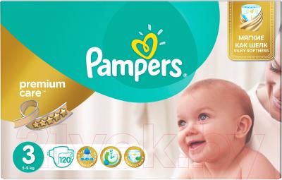 49b732356c92 Pampers Premium Care 3 Midi (120шт) Подгузники купить в Минске