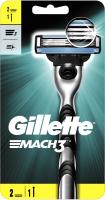 Бритвенный станок Gillette Mach3 (+ 2 кассеты) -