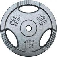 Диск для штанги No Brand K3-15kg (окрашенный) -