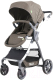 Детская прогулочная коляска Baby Tilly Cross T-171 (коричневый) -