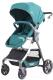 Детская прогулочная коляска Baby Tilly Cross T-171 (бирюзовый) -