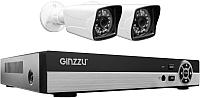 Комплект видеонаблюдения Ginzzu HK-425D -