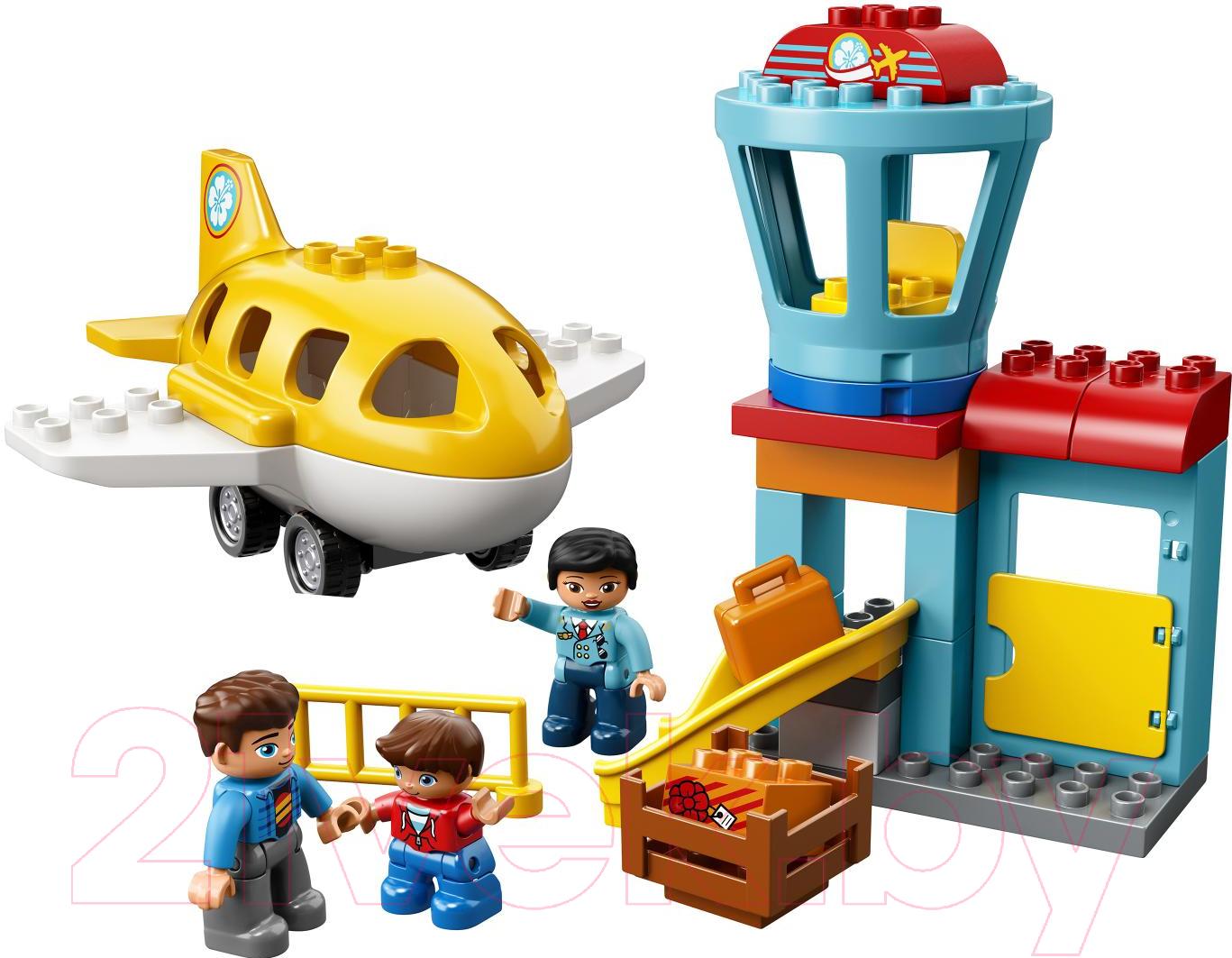 Купить Конструктор Lego, Duplo Town Аэропорт 10871, Китай, пластик