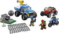 Конструктор Lego City Police Погоня по грунтовой дороге 60172 -