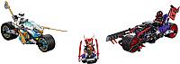 Конструктор Lego Ninjago Уличная погоня 70639 -