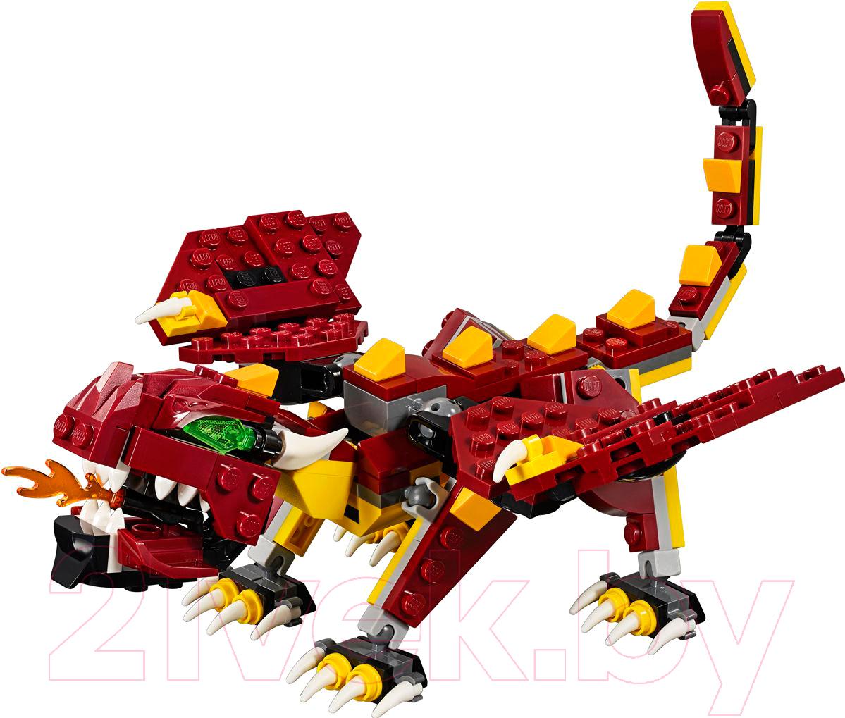 Конструктор Lego, Creator Мифические существа 31073, Китай, пластик  - купить со скидкой