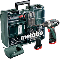 Профессиональная дрель-шуруповерт Metabo PowerMaxx BS Basic Set (600080880) -