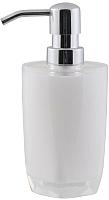 Дозатор жидкого мыла Axentia Грац 128546 (белый) -