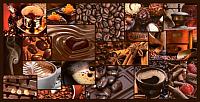 Панель ПВХ листовая Grace Мозаика Аромат кофе -