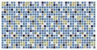 Панель ПВХ листовая Grace Мозаика Атлантида -