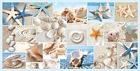 Панель ПВХ листовая Grace Мозаика Пляж -