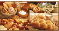 Панель ПВХ листовая Grace Принтформ Мозаика Хлебный дом -