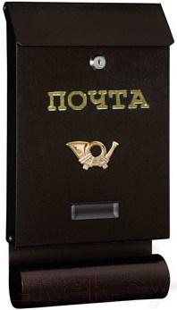 Купить Почтовый ящик Metline, SDT (медный антик), Польша, коричневый, металл