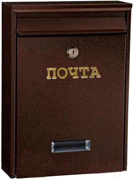 Купить Почтовый ящик Metline, W1 (медный антик), Польша, коричневый, металл