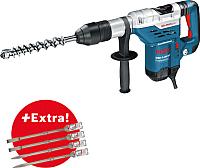 Профессиональный перфоратор Bosch GBH 8-45 DV Professional с комплектом зубил (0.615.990.J8M) -