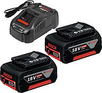 Набор аккумуляторов для электроинструмента Bosch GAL 1880 CV Professional + зарядное устройство (1.600.A00.B8J) -