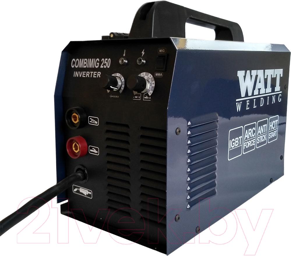 Купить Сварочный аппарат Watt, Combimig 250 +MMA (12.230.010.10), Китай