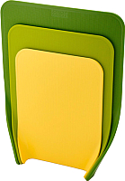 Набор разделочных досок Joseph Joseph Nest Chop 60121 (3шт, зеленый) -