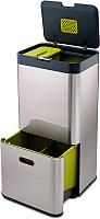 Система сортировки мусора Joseph Joseph Totem 60 30022 (сталь) -