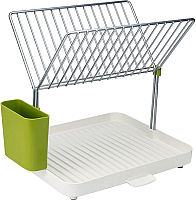 Сушилка для посуды Joseph Joseph Y-rack Dishdrainer 85083 (белый/зеленый) -