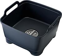 Емкость для мытья посуды Joseph Joseph Wash&Drain 85056 (серый) -