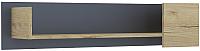 Полка Интерлиния Split SP-П2 (дуб корабельный золотой/графит) -