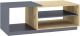 Журнальный столик Интерлиния Split SP-СЖ1 (дуб корабельный золотой/графит) -
