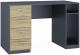 Письменный стол Интерлиния Split SP-СП1 (дуб корабельный золотой/графит) -
