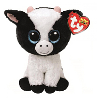 Мягкая игрушка TY Beanie Boo's. Корова Butter / 36841 -