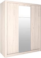 Шкаф Интерлиния Лима ЛМ-003-18 (дуб корабельный белый) -