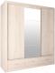 Шкаф Интерлиния Лима ЛМ-003-20 Ш (дуб корабельный белый) -