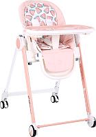 Стульчик для кормления Happy Baby Berny (розовый) -