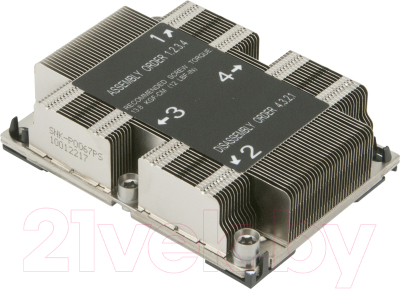 Кулер для процессора Supermicro SNK-P0067PS 1U Heatsink