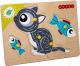 Развивающая игрушка Woody Рамка-вкладыш Котик / 02055 -