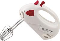 Миксер ручной Centek CT-1112 (белый/красный) -