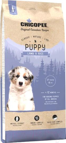 Купить Корм для собак Chicopee, CNL Puppy Lamb & Rice (15кг), Канада