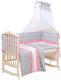 Комплект в кроватку Polini Kids Disney Последний богатырь 7 (принцесса/розовый) -
