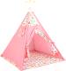 Детский вигвам Polini Kids Жираф (розовый) -