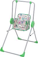 Качели/стульчик для кормления Фея Малыш (зеленый) -