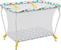 Игровой манеж Polini Kids Disney Медвежонок Винни - Чудесный день (желтый) -