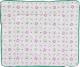 Пеленальный матрас Polini Kids Стрекозы 77x72 / 0001426-3 -