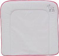Доска пеленальная Polini Kids Disney Последний богатырь с вышивкой (розовый, 77x72) -