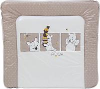 Доска пеленальная Polini Kids Disney Медвежонок Винни (белый-макиато) -