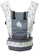Сумка-кенгуру Polini Kids Disney Последний богатырь с вышивкой (лес/серый) -