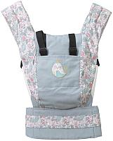 Сумка-кенгуру Polini Kids Disney Последний богатырь с вышивкой (принцесса/белый) -